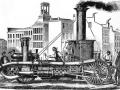 """Паровая пожарная машина \""""Подарок горожан\"""", 1854 год"""