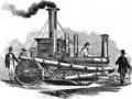 Паровая пожарная машина, построенная фирмой A. B. & E. Latta, 1860 год
