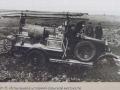 Испытания пожарного автомобиля АМО-Ф-15 в условиях бездорожья. Россия, 1920-е годы