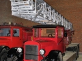 Выдвижная пожарная автолестница К-30 на шасси ЗиС-6, музей в Балашихе