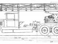 Чертеж пожарной автолестницы ПЭЛ-30 на шасси ЗиС-6