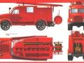 Пожарный автонасос ПМГ-12 на шасси ГАЗ-51. Московский завод противопожарного оборудования