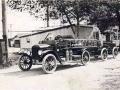 Пожарный автомобиль с прицепом на шасси Ford Model T, 1913 год