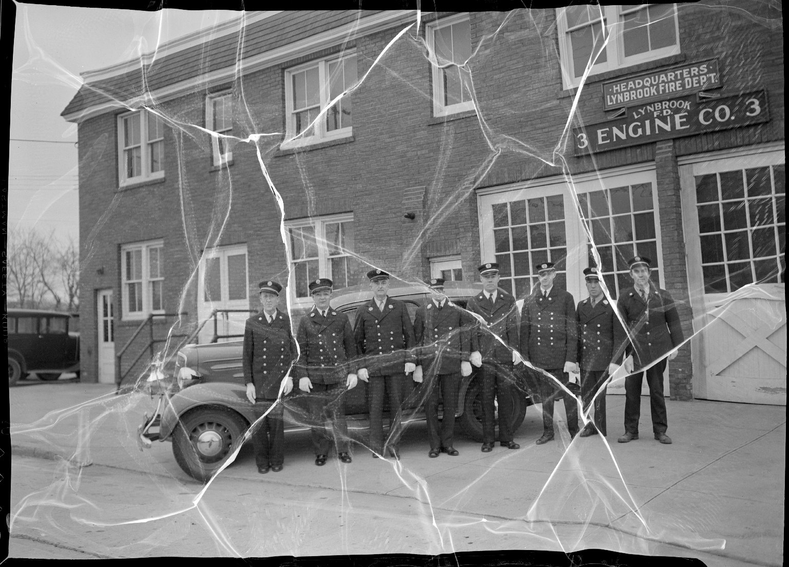 Пожарное депо Линдбрук. Нью-Йорк, США, 1939 год