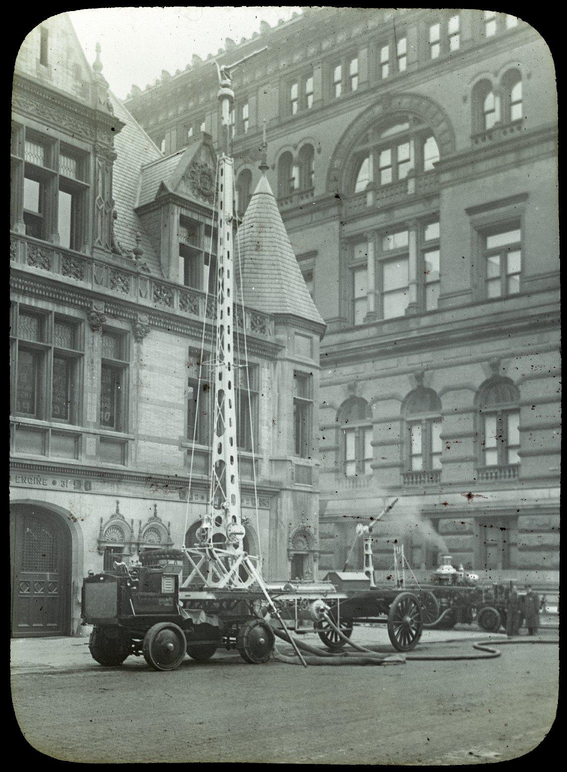Пожарная башня. Нью-Йорк, США. Начало 20 века