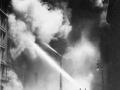 Тушение пожара с помощью водной башни. Нью-Йорк, США. Начало 20 века