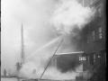 Пожарные борются с огнем. Нью-Йорк, США. Начало 20 века