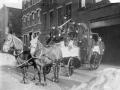 Конный пожарный ход. Нью-Йорк, США. Конец 19 века