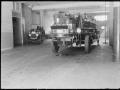 Пожарная автолестница в депо. Нью-Йорк, США. 1920-е