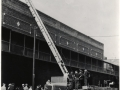 Тестирование пожарной автолестницы. Нью-Йорк, США. 1950-е