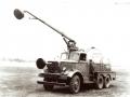 Военный аэродромный пожарный автомобиль Class 150. Прототип Mack-Cardox, США, 1940-е годы