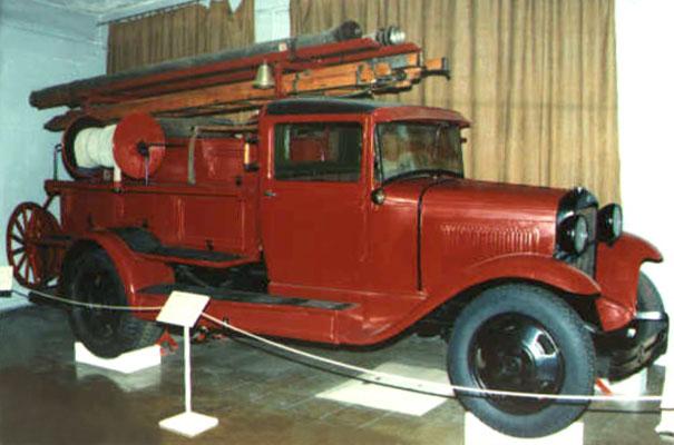 Пожарный автомобиль ПМГ-1