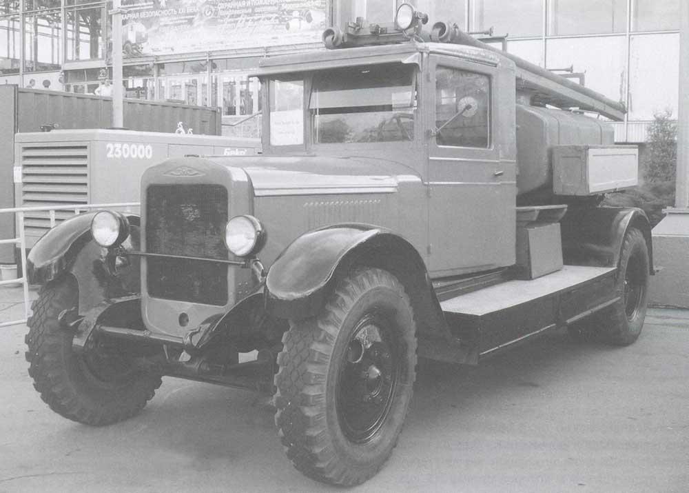 Реконструкция пожарной автоцистерны ПМЗ-2