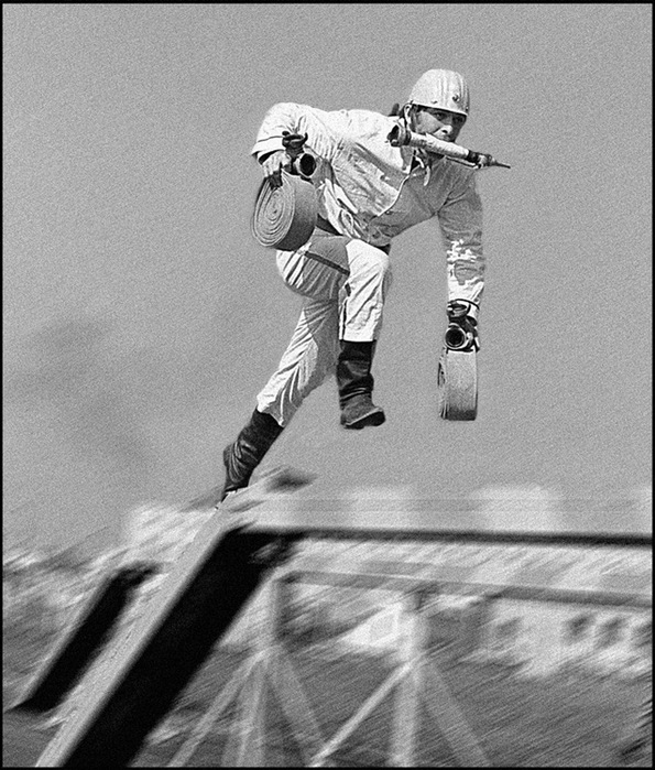 Соревнования по пожарно-прикладному спорту в Иваново, 1979 год. Фото Анатолия Лисовского