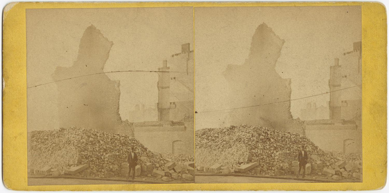 Великий пожар Бостона. 1872 год, США. Форт-Хилл