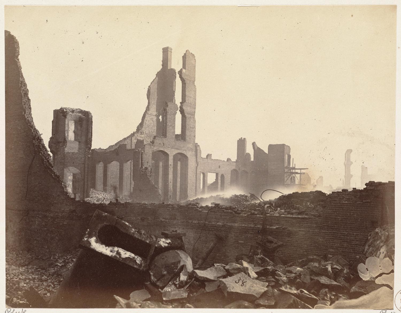 Великий пожар Бостона. 1872 год, США. Девоншир Стрит
