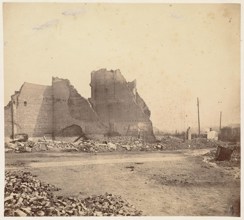 Великий пожар Бостона. 1872 год, США. Федера и Перчэз Стрит