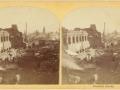 Великий пожар Бостона. 1872 год, США. Руины Франклин Стрит
