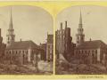 Великий пожар Бостона. 1872 год, США. Старая Южная церковь