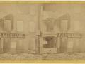 Великий пожар Бостона. 1872 год, США. Угол Милк и Оливер Стрит