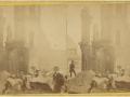 Великий пожар Бостона. 1872 год, США. Руины на Милк Стрит