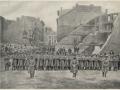 Великий пожар Бостона. 1872 год, США. Площадь Свободы. Городская милиция