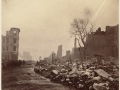 Великий пожар Бостона. 1872 год, США. Саммер Стрит