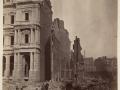 Великий пожар Бостона. 1872 год, США. Почтовое отделение с Милк Стрит