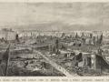 Великий пожар Бостона. 1872 год, США. Панорама