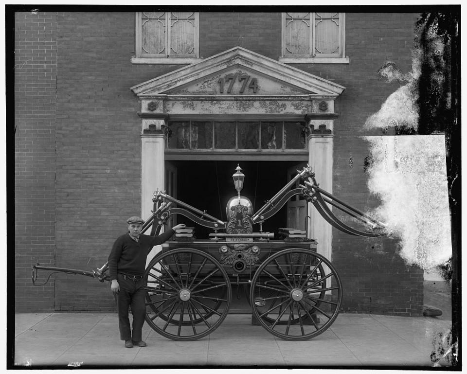 Пожарный автомобиль Джарджа Вашингтона