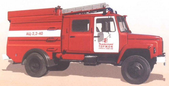 Автоцистерна пожарная легкого класса