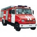 Автоцистерна пожарная легкого класса АЦ-1,3-4/400 (5301)