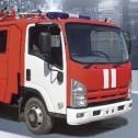 Автоцистерна пожарная легкого класса АЦ 1,5-40/2 (ISUZU NPR75LК)