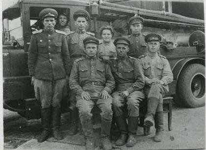 Пожарные в годы Великой Отечественной Войны