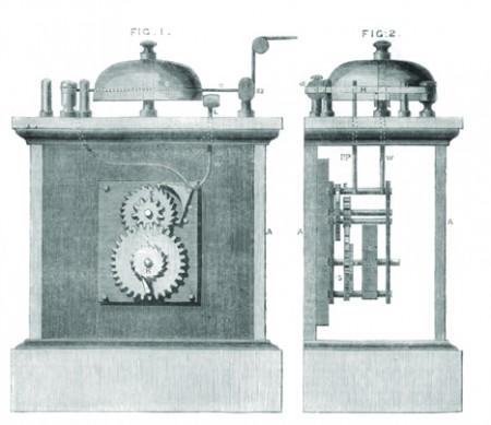 Вариант механической пожарной сигнализации. Британская империя.
