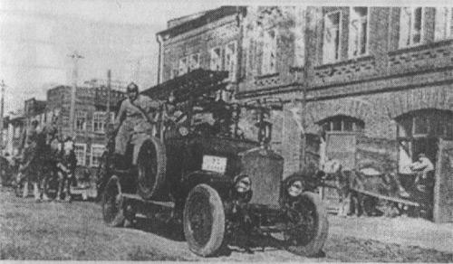 Пожарный автомобиль 20-х годов