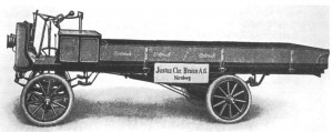 "Электромобиль ""Браун"", 1908 г."