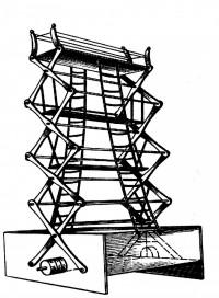 Пожарная лестница Петра Дальгрена