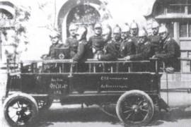 Пожарный автомобиль Фрезе. 1904 год