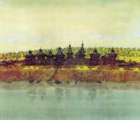 Иркутский острог XVII века