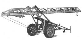 Лестница прицепная ЛП-18 модель ЛЖ. Конец 1950-х годов