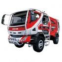 Концепт автомобиля для тушения лесных пожаров Morita Bush Truck