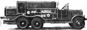 Сверхмощный автонасос НАТИ на шасси ЯГ-10