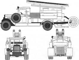 Пожарная машина ПМЗ-2