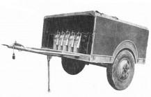 Углекислотный прицеп УП-8. Середина 1950-х годов