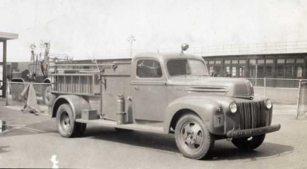 Аэродромный пожарный автомобиль Class 125 Ford-General, 1942 год