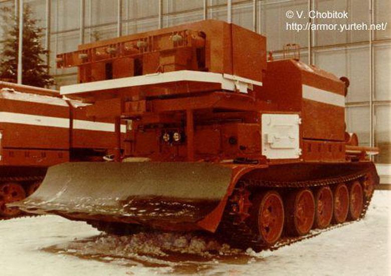 Гусеничная пожарная машина ГПМ-54М