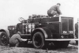 Аэродромный пожарный автомобиль ранней постройки Class 100 USA W-503