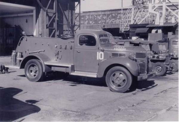 Аэродромный пожарный автомобиль Class 125 Dodge-Bean, 1942 год
