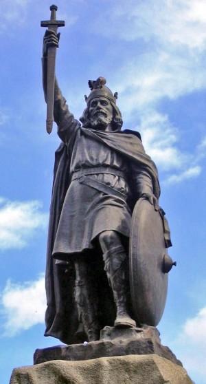 Статуя Альфреда Великого